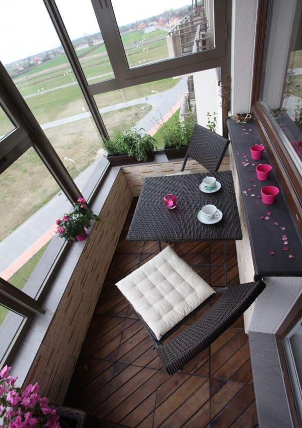 Идеи и советы для декора балкона и террасы.